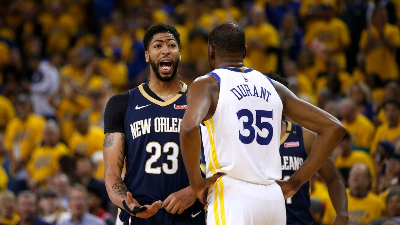 """""""Kevin Durant Can Do It All From Anywhere On The Floor"""": Anthony Davis names the player he finds the hardest to guard"""
