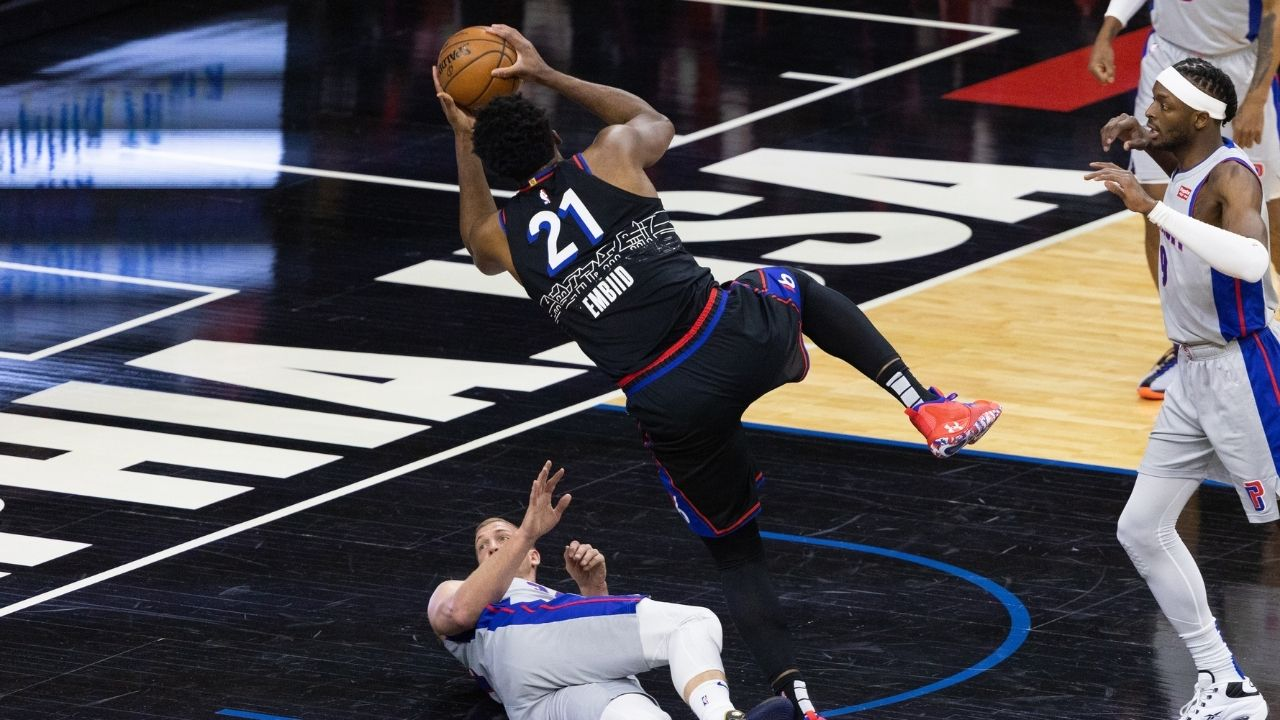 """""""Joel Embiid scares my daughter"""": Doc Rivers hilariously mocks Sixers star for constantly falling during games and raising injury concerns"""