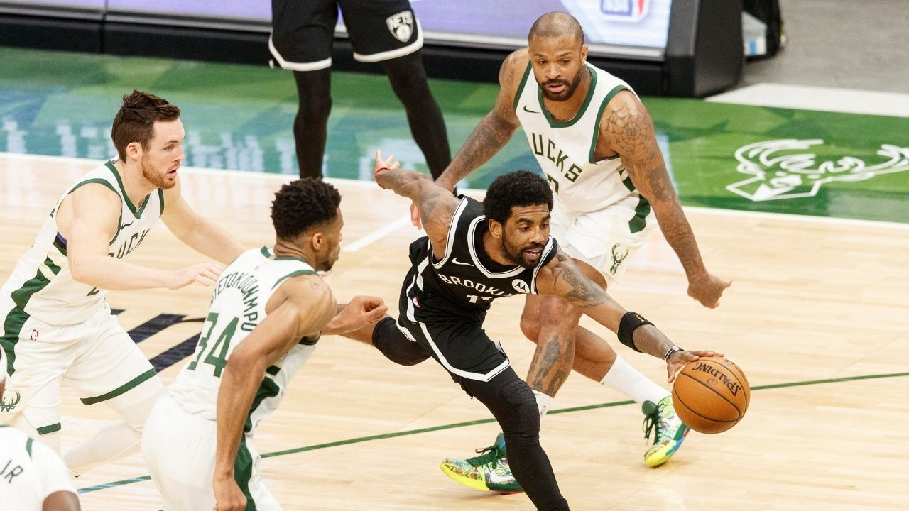 """""""Kyrie Irving crossed up Kobe Bryant and Kevin Durant"""": When the Nets guard embarrassed his future teammates at Team USA practice"""