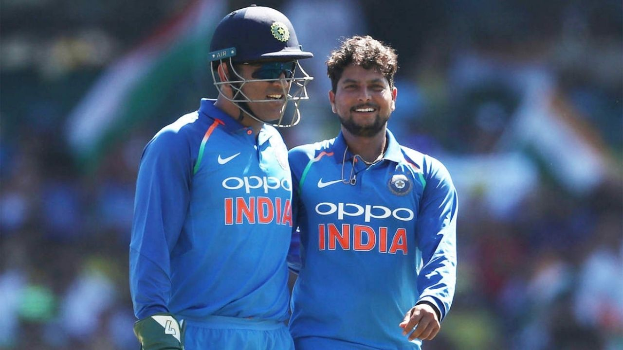 """""""We miss his experience"""": Kuldeep Yadav opens up on bowling without MS Dhoni behind the wickets"""