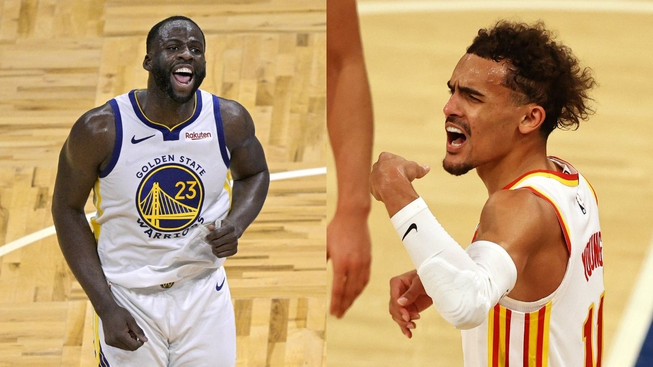 """""""Trae Young is one of the biggest trashtalkers in the NBA, glad the world can see it"""": Draymond Green praises Hawks star's resilience to Knicks fans' insults"""