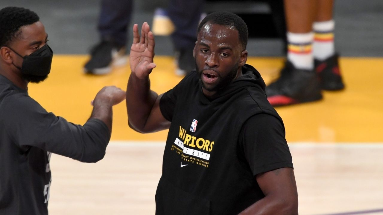 """""""Why would you say that in front of your son?"""": Draymond Green eviscerates heckler who swore at him during play in game vs Lakers"""