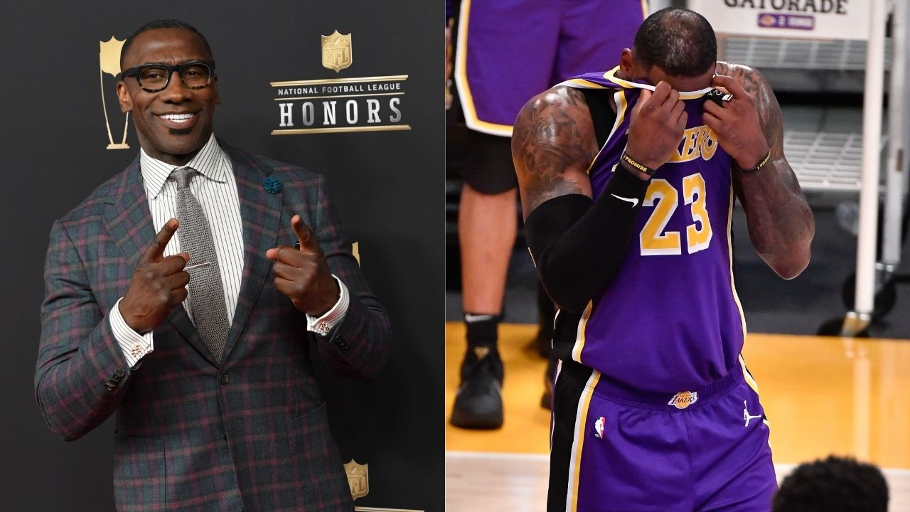 """LeBron James and the Lakers are in REAL Trouble"": Shannon Sharpe shows concern about the defending champions after their loss to the Raptors"