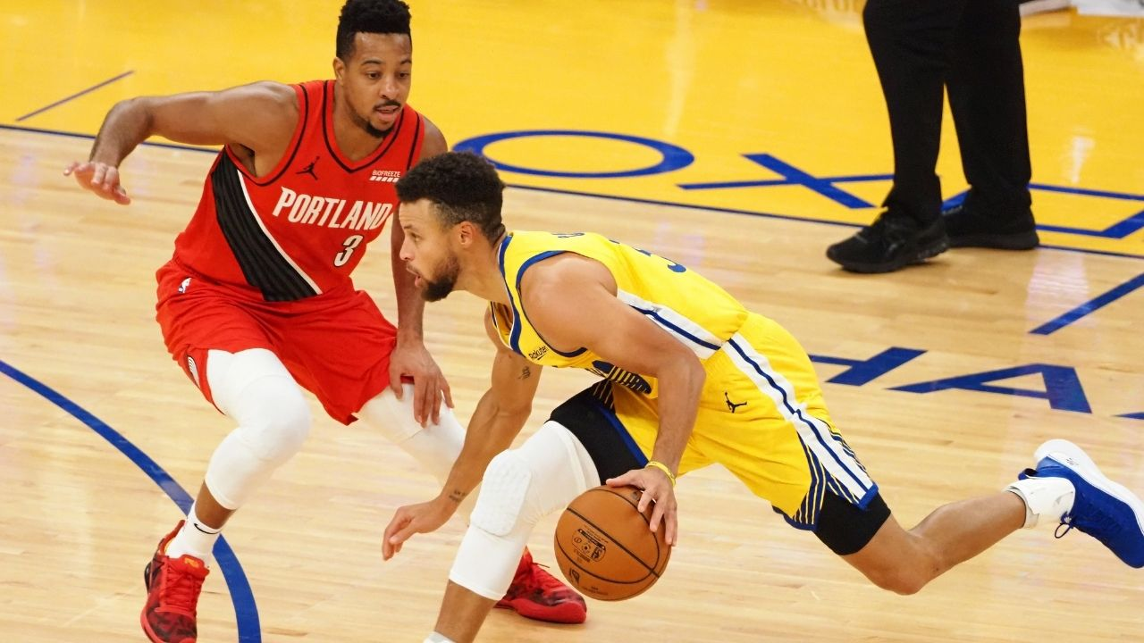 """""""Stephen Curry has changed the game for the better, but he's also changed the game for the worse..."""": CJ McCollum talks about the impact the Warriors' star has had on the game of basketball"""