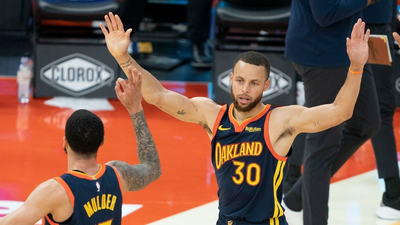 """""""Stephen Curry joins Michael Jordan and Kobe Bryant"""": Warriors legend joins the GOATs as the only players with more than 35 30-point games in their 12th season or later"""