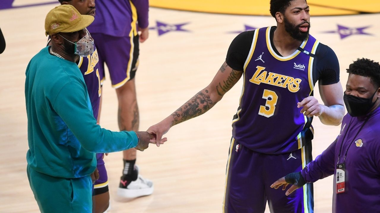 """LeBron James assures Lakers fans that they will be looking to repeat as 2021 NBA champions: """"The road to back-to-back begins a week from now"""""""