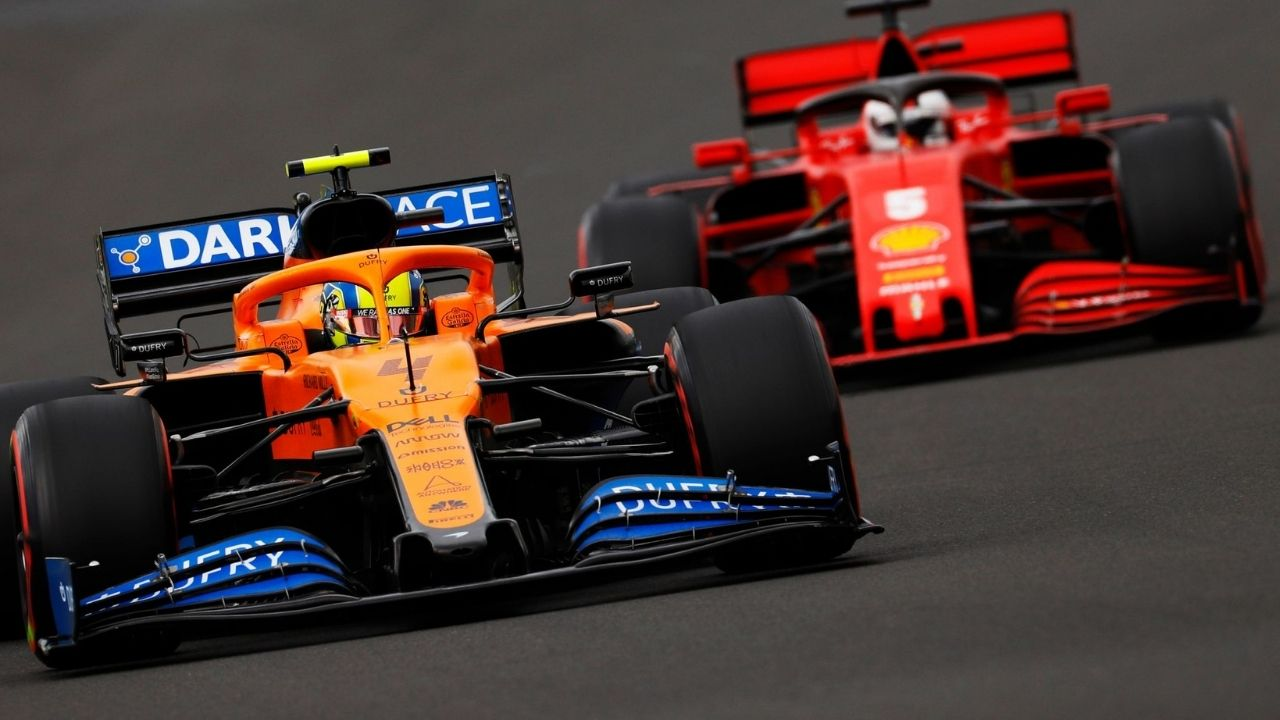 """""""We are in front of both McLarens"""" - Charles Leclerc optimistic of podium for Ferrari at Barcelona tomorrow"""