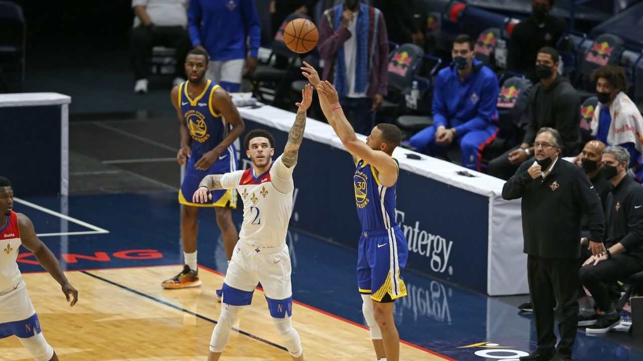 """""""Stephen Curry is unreal because of his conditioning"""": Lonzo Ball reveals the one underrated trait of the Warriors superstar's successful game"""