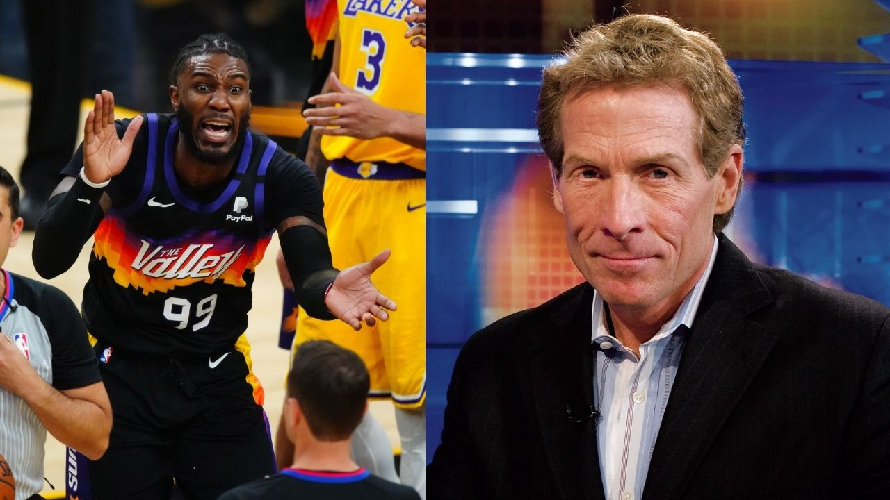 """""""LeBron James had a ball taunting Jae Crowder last night"""": Skip Bayless ironically references 'Took it personal' Michael Jordan meme while praising the Lakers star"""