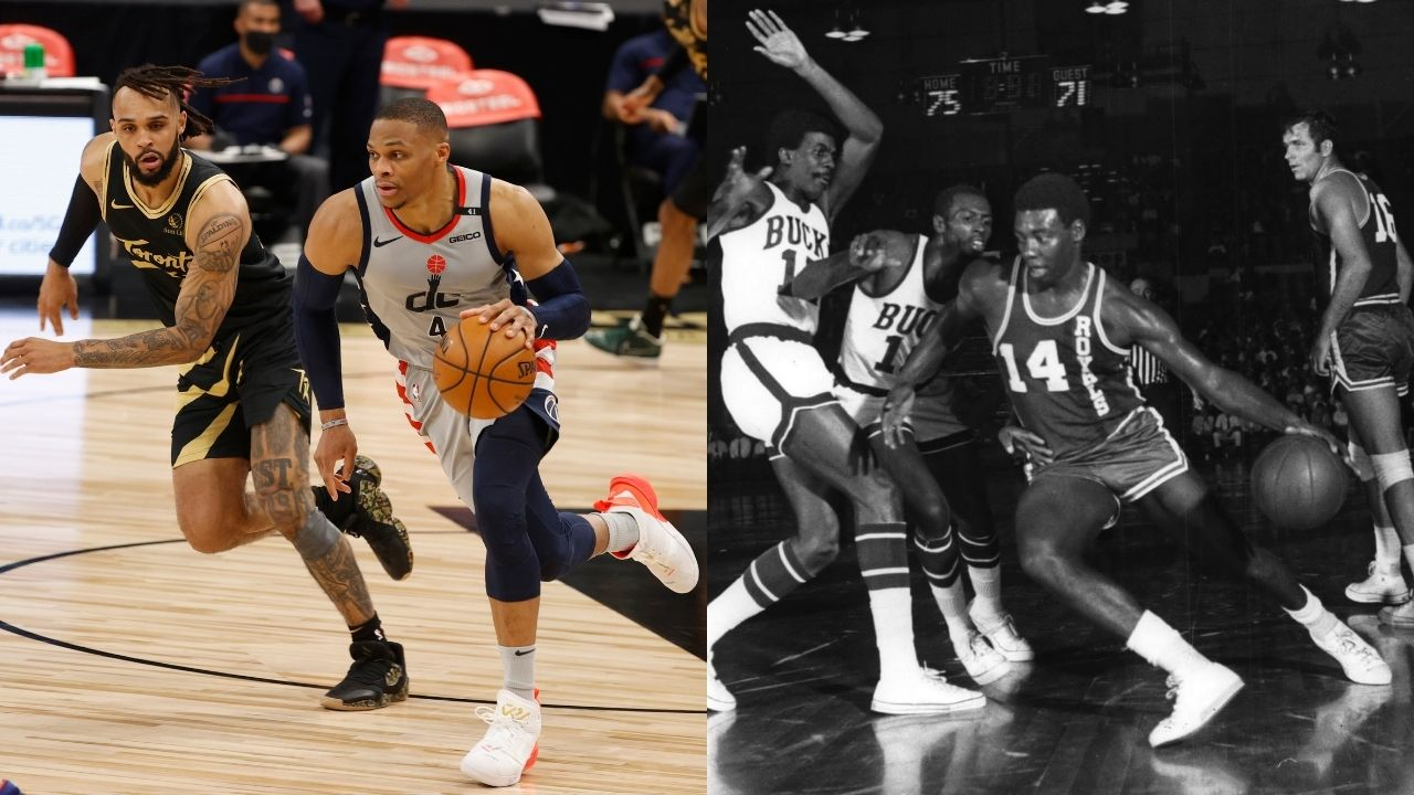 """""""I want Russell Westbrook to break my triple-double record"""": Oscar Robertson compliments the Wizards star for his competitive streak and elite mentality"""