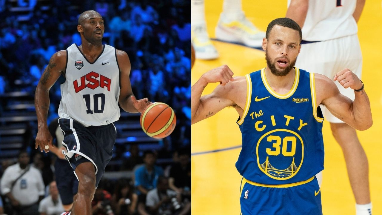 """""""Stephen Curry reminds me of '06 Kobe Bryant"""": Chris Bosh draws a strong comparison between the Warriors star's current historic year to the Lakers legend's 2006 season"""
