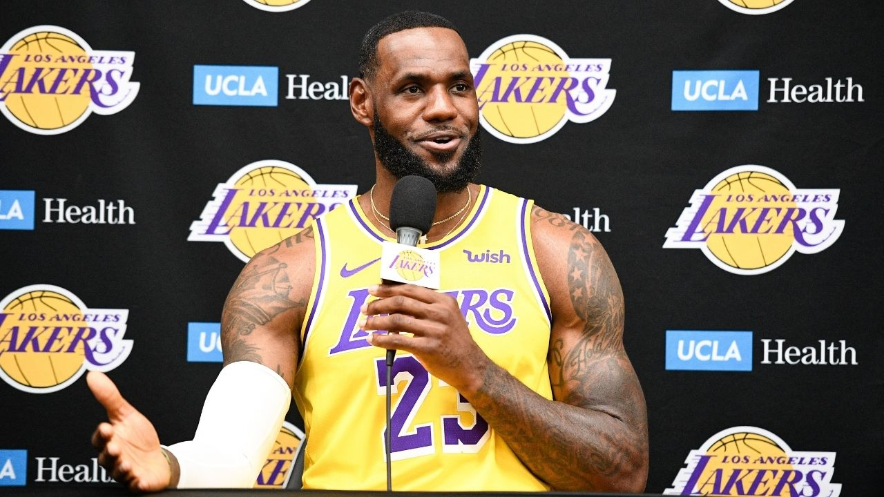"""""""LeBron James ain't playing on one leg no more"""": Lakers star responds to NBA fans who saying he's playing through injury"""