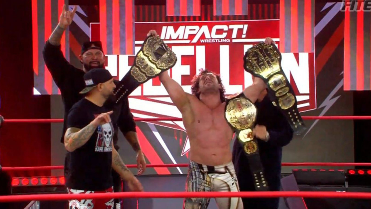 WWE Hall of Famer thinks Impact Wrestling should be furious with Kenny Omega for how he treats their world championship
