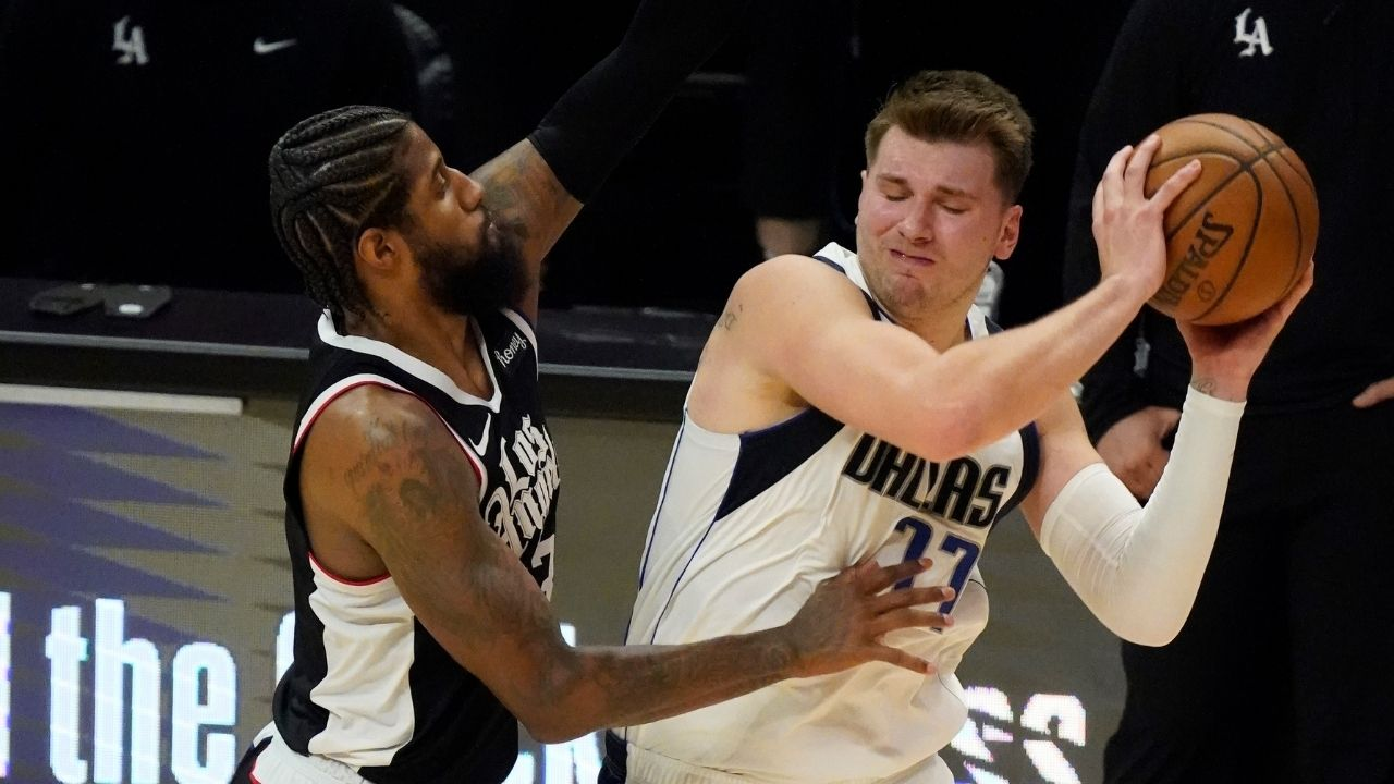 """""""Luka Doncic sets NBA record eclipsing LeBron James and Kareem Abdul-Jabbar"""": Dallas superstar becomes the first player to record multiple 30-point triple-doubles in the playoffs before turning 23"""