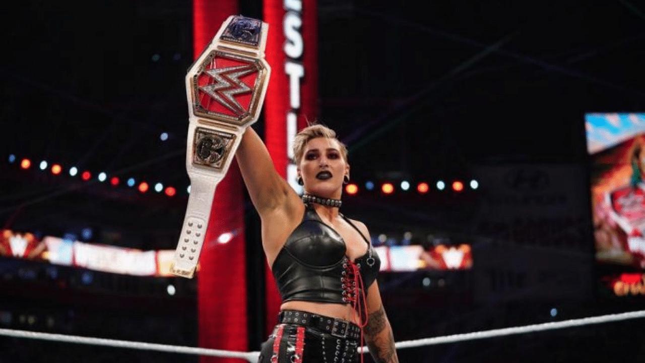 Rhea Ripley set to defend RAW Women's Championship at Wrestlemania Backslash