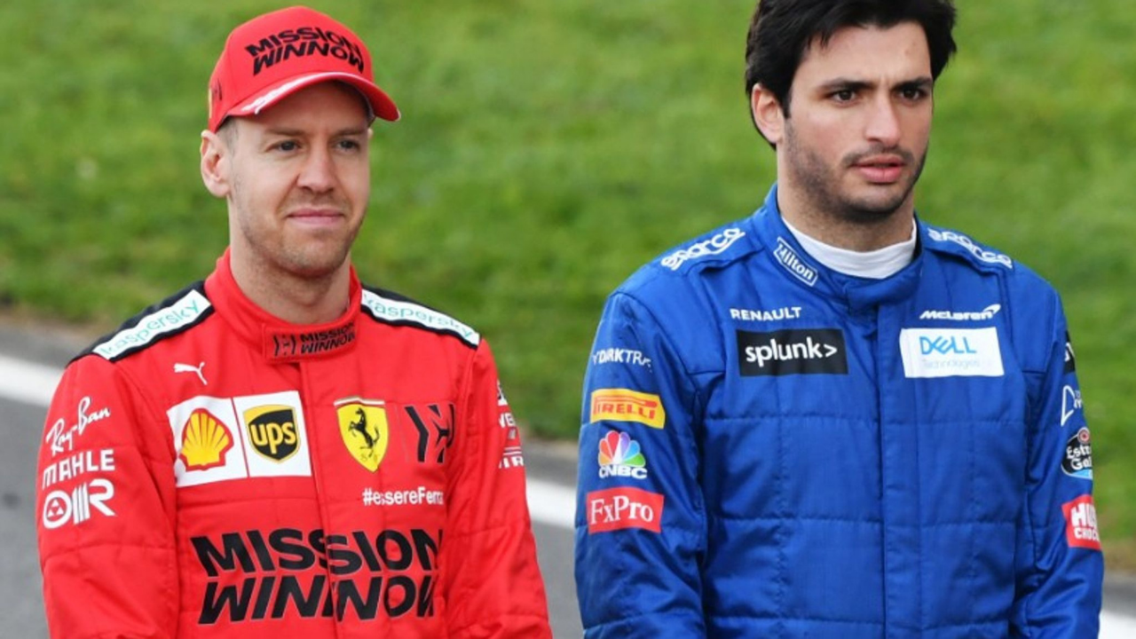 """""""One of the best drivers in the history of the sport"""" - Carlos Sainz on Red Bull mentor Sebastian Vettel"""