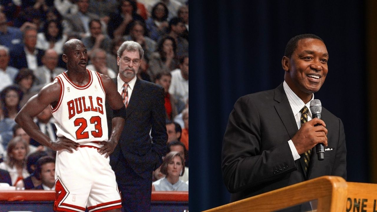 """""""I'll sit down and speak with Michael Jordan"""": When Isiah Thomas opened the door for reconciliation with the Bulls legend"""
