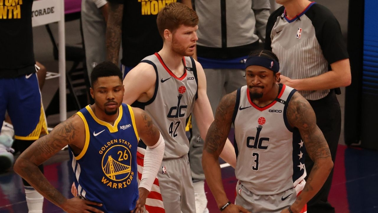 """""""You can't joke anymore"""": Kent Bazemore clarifies that he was joking about Bradley Beal and Steph Curry's scoring title race"""