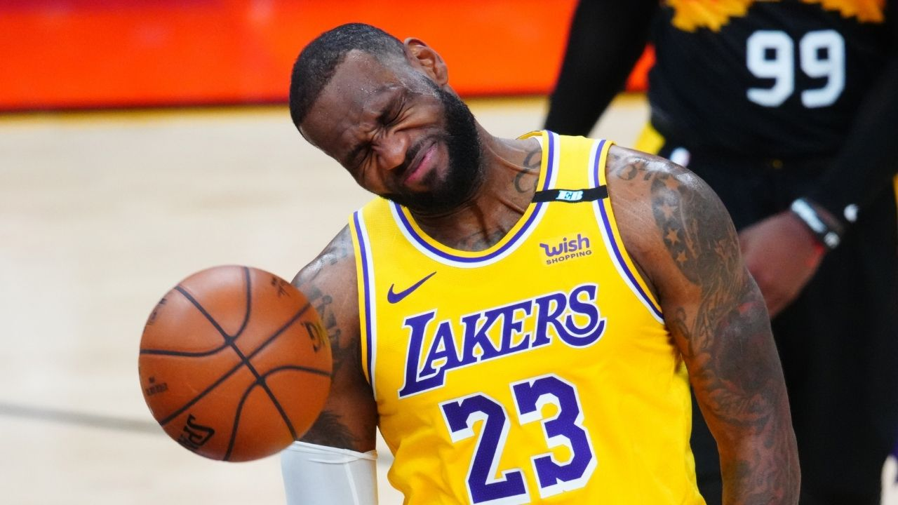 """""""Its been a rough year on me"""": LeBron James opens up about his 2020-21 season, and how its taken a toll on him and his Lakers team"""