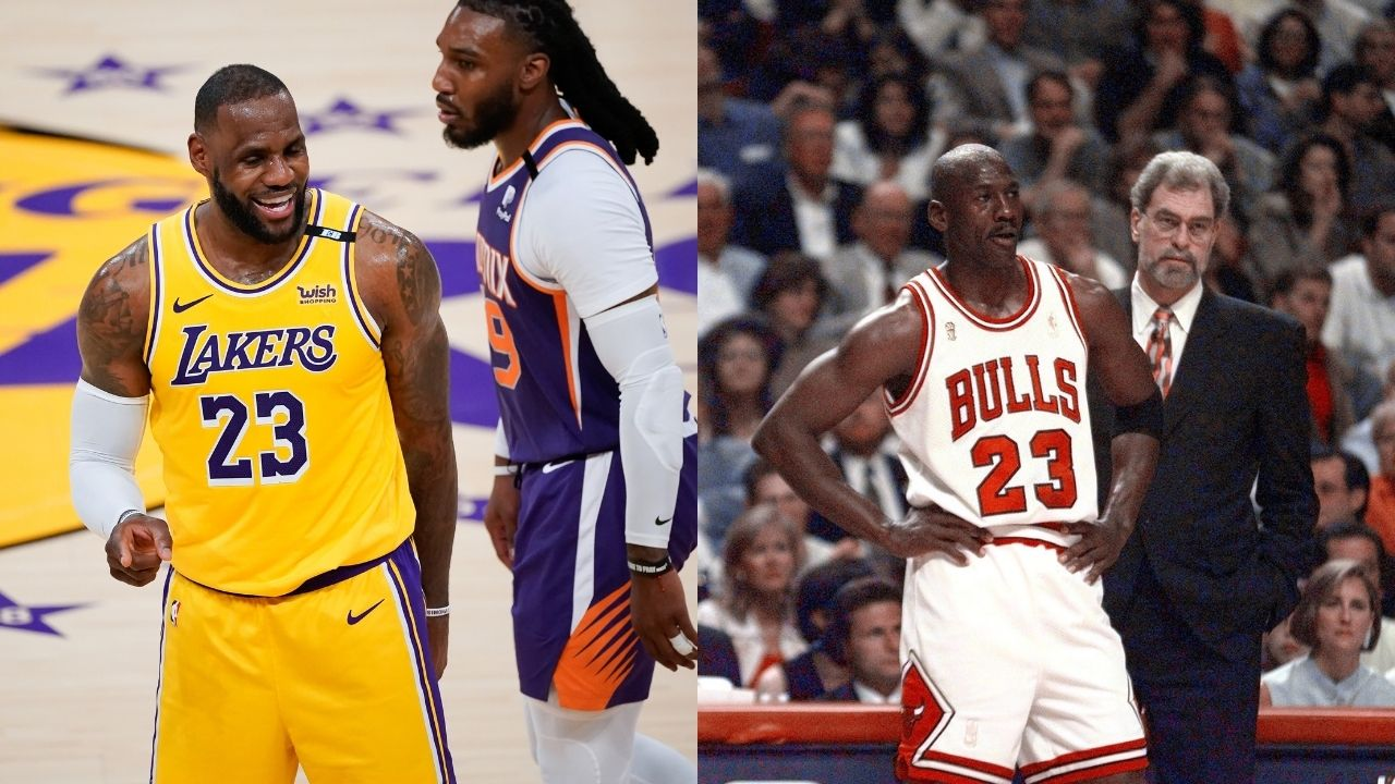 """""""LeBron James channeled his inner Michael Jordan against Jae Crowder"""": Fans react to Lakers MVP taking it personally against Suns star in Game 3 victory"""