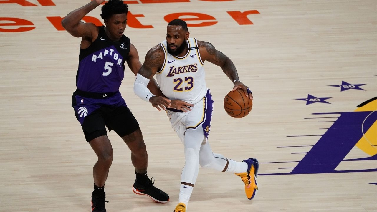 """""""LeBron James needs a gaming chair with an enhanced clutch gene"""": Skip Bayless rips on Lakers MVP on Twitter for 'lackluster' Playoff performances"""