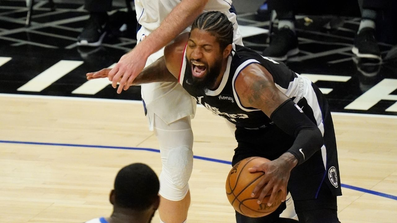 """""""No one is afraid of Paul George and Kawhi Leonard"""": Kendrick Perkins criticizes Clippers stars for their lacklustre defence against the Mavs in Game 1"""