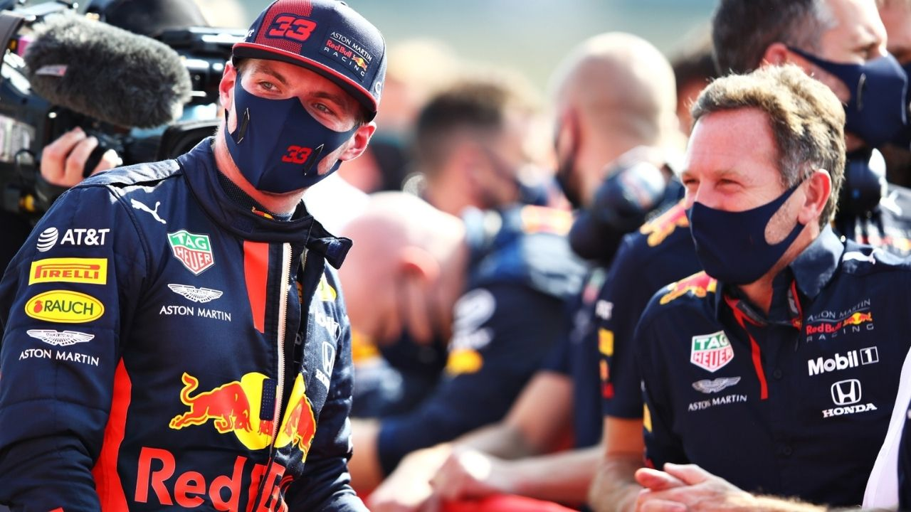 """""""Put some gravel there"""" - Christian Horner has a solution for the track limits issue plaguing Max Verstappen"""