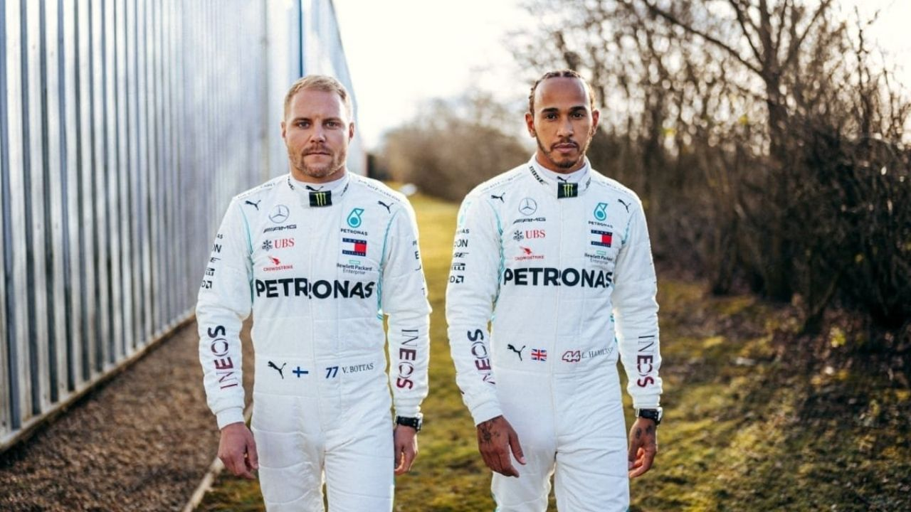 """""""I'm not here to let people by"""" - Valtteri Bottas issues statement of defiance after holding up Mercedes teammate Lewis Hamilton"""