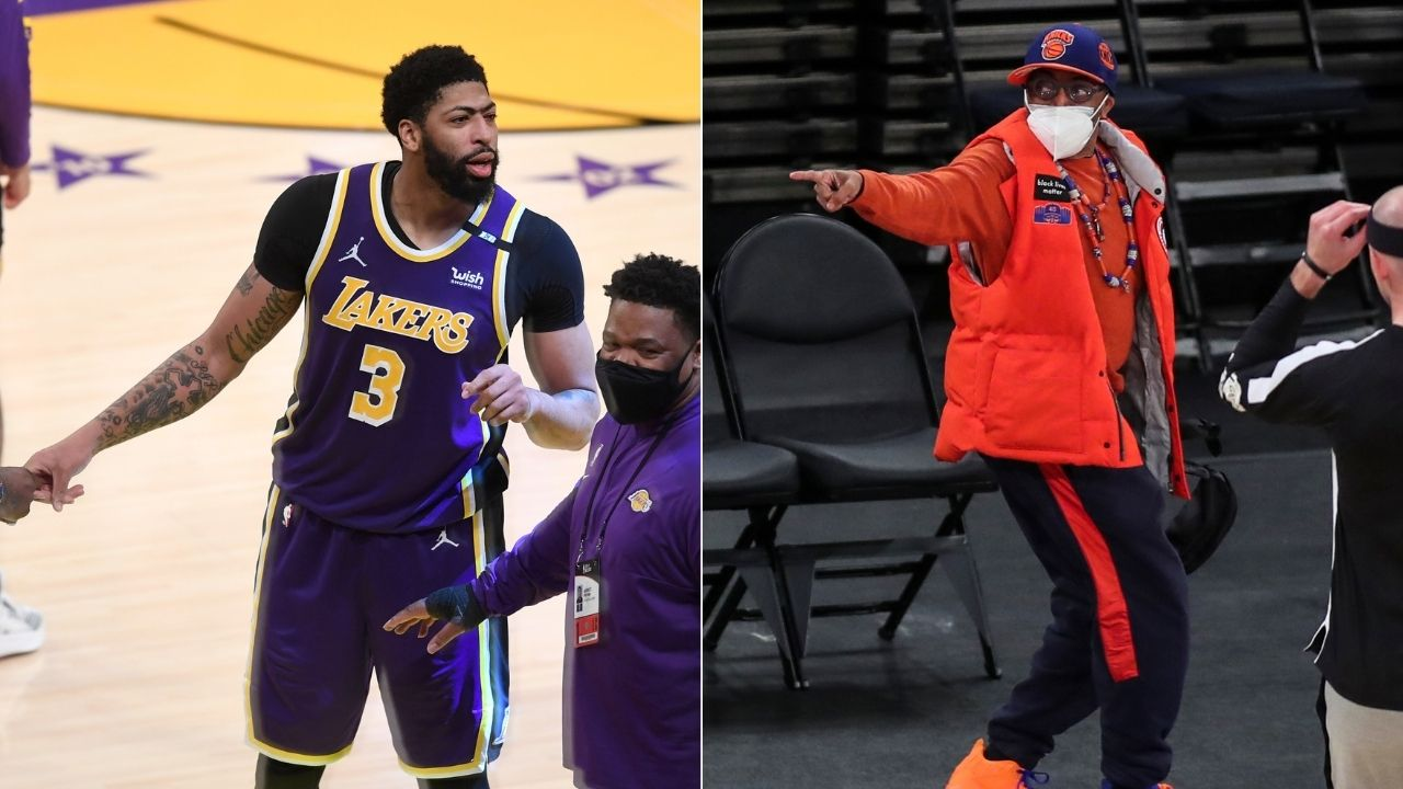 """""""Spike Lee didn't move a muscle"""": Anthony Davis and LeBron James roasted the Knicks superfan after Lakers pulled off a comeback win"""