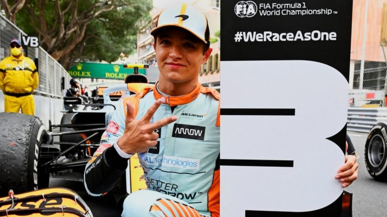 """""""It's a cool feeling, it's incredible""""– Lando Norris on fetching podium from Sergio Perez"""