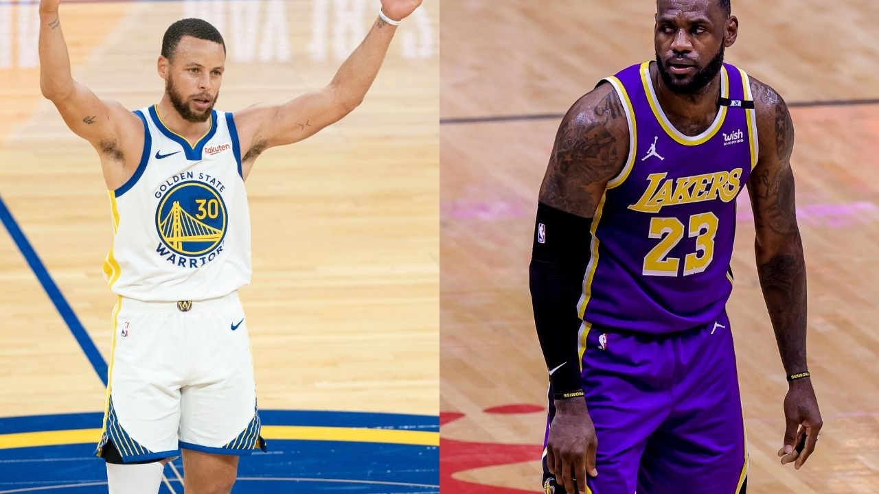 """""""Steph Curry is playing more like Wardell against the Lakers"""": Skip Bayless predicts the Warriors get blown out by 20 against LeBron James and co in the play in tournament"""