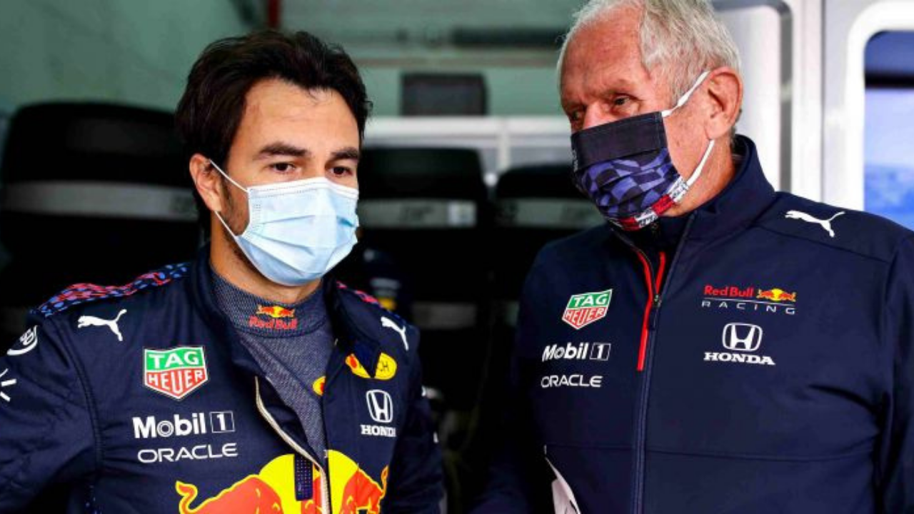 """""""Sometimes he is at the level of Max"""" - Helmut Marko impressed with Red Bull debutant Sergio Perez"""