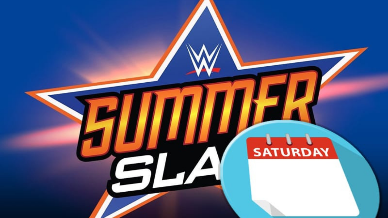 Why is SummerSlam taking place on a Saturday this year