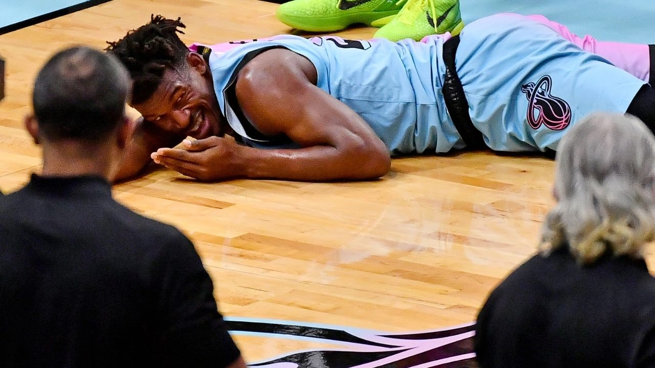 """""""My stomach is gonna fall out my a**"""": Miami Heat superstar Jimmy Butler had a hilarious reaction when he sat in a car alongside F1 driver Lando Norris"""