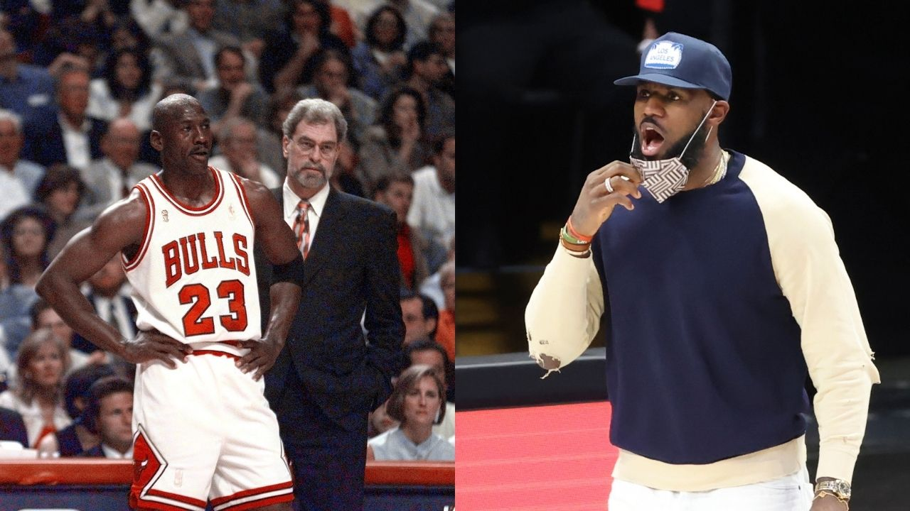 """""""Michael Jordan, Dr J, Larry Bird"""": When LeBron James questionably omitted a few Lakers legends from his GOAT list in 2013"""