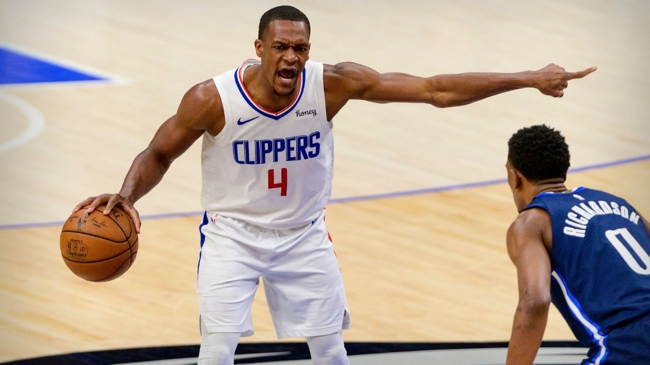 """Playoff Rondo led the Clippers to play angry and defeat the Mavericks"""":  Skip Bayless gives huge props to Rajon Rondo as the Los Angeles Clippers  manage to defeat Luka Doncic and co."""