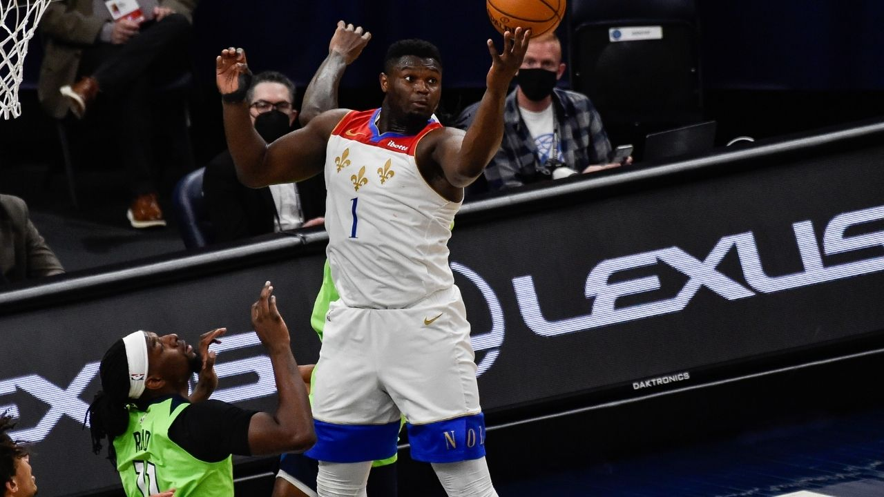 """Zion Williamson is a baby bull with point guard skills"": Skip Bayless is in awe of Pelicans star's 37 points in OT win over the Timberwolves"
