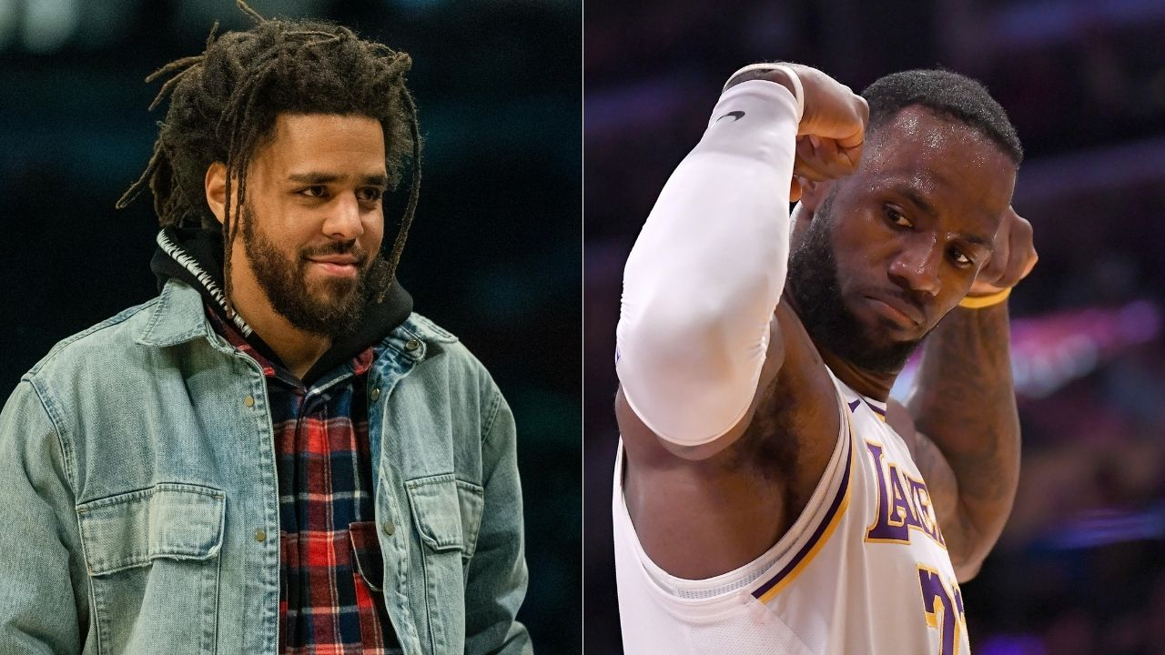 """""""If LeBron James can get J Cole a championship, he's the GOAT"""": NBA Fans react to hip-hop star's professional debut for Rwanda's Patriots BC in the Basketball Africa League"""