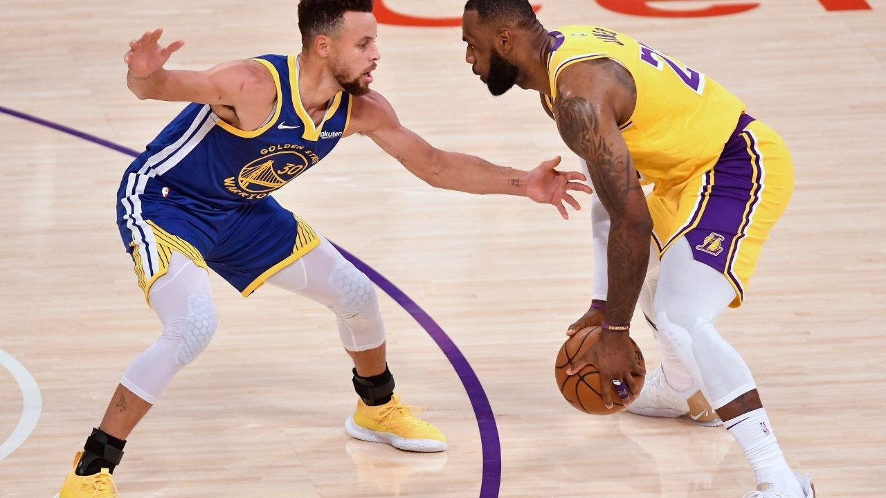 """Steph Curry could beat the Lakers"""": Brian Windhorst sends warning to LeBron James and Anthony Davis about facing Warriors star in play in tournament 