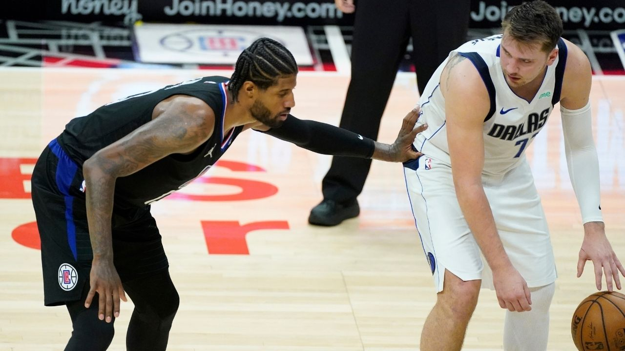 """""""Thanks to Pandemic P and the Clippers, I'll get ridiculed on national TV"""": Skip Bayless blasts Paul George and co after their Game 2 loss against Luka Doncic and co"""