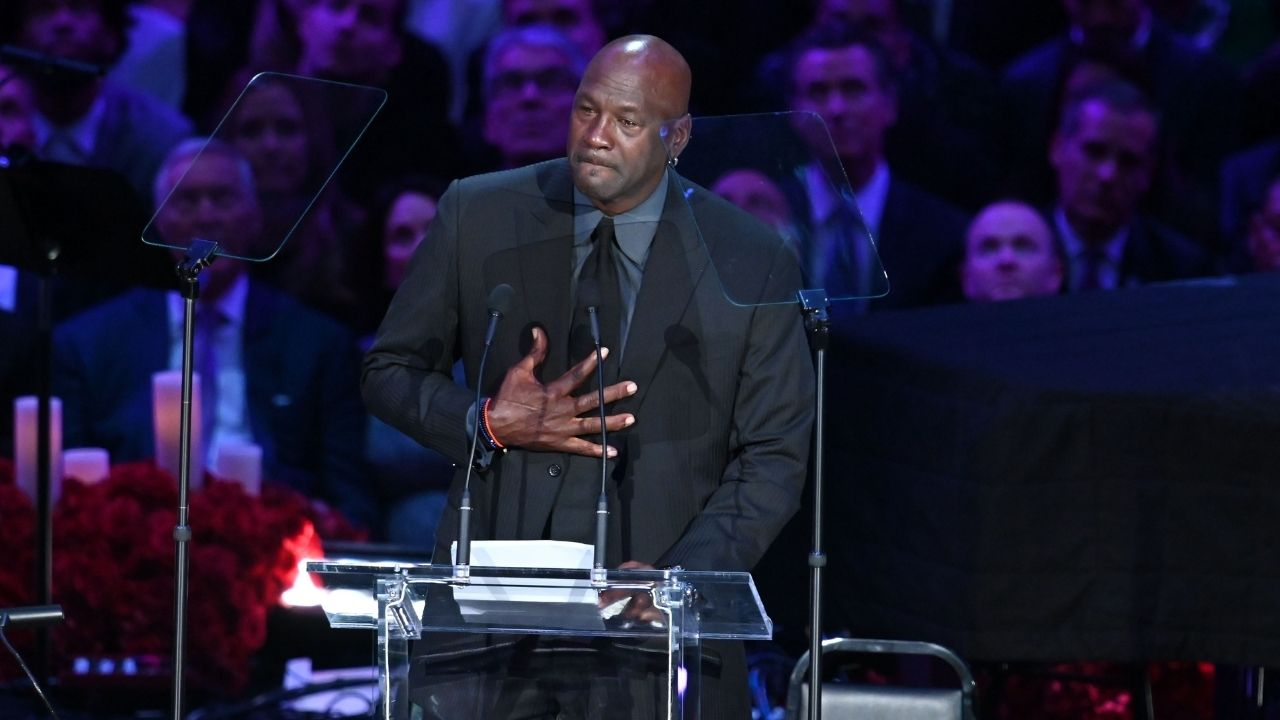 """""""We spoke about Kobe Bryant coaching his daughter"""": Michael Jordan reveals the last text message exchange he had with the Lakers GOAT"""