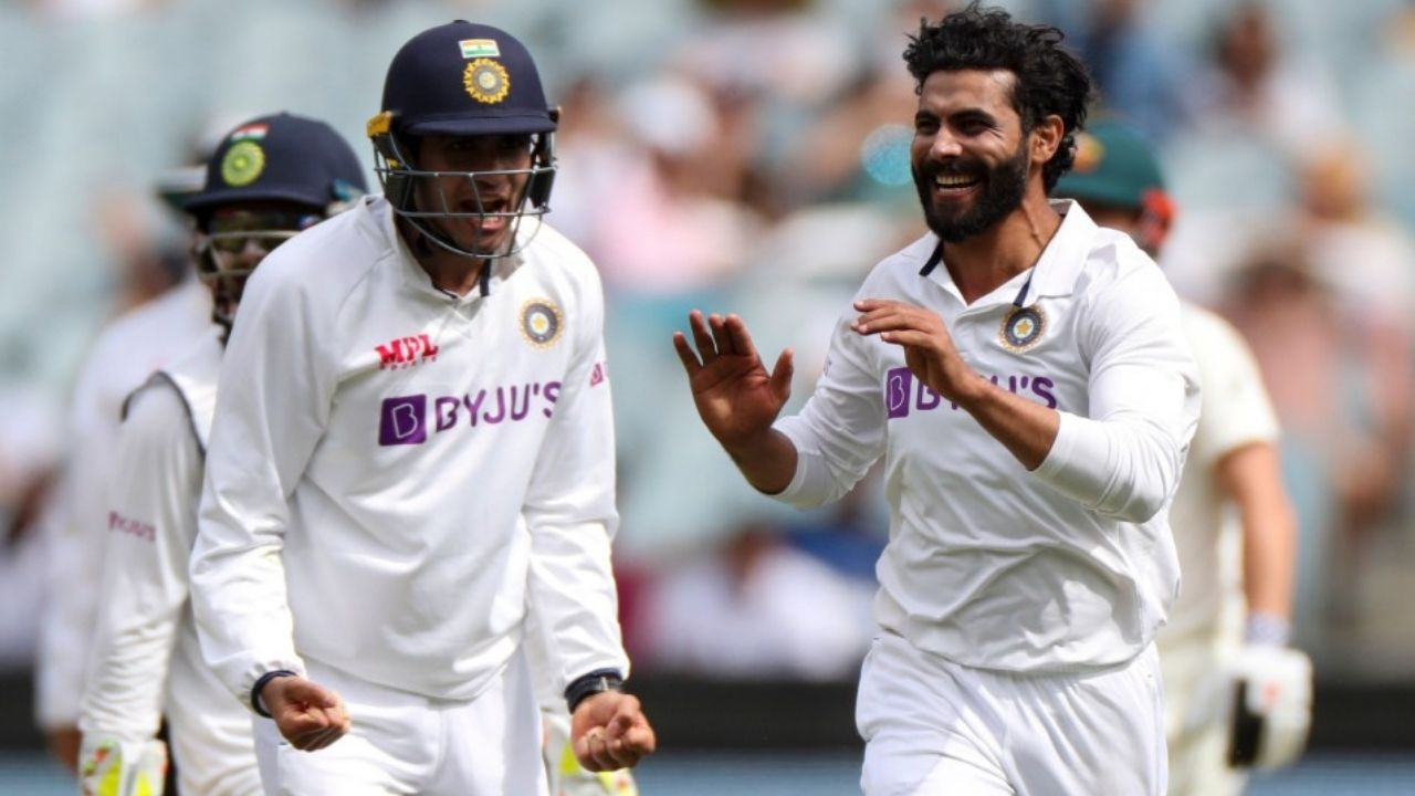 India new Test jersey: Ravindra Jadeja posts picture of India's new sweater for WTC Final 2021