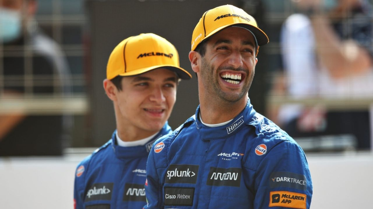 """Carlos was as good as he can drive a car that's not perfect""– Lando Norris pressures Daniel Ricciardo with Carlos Sainz refernce"