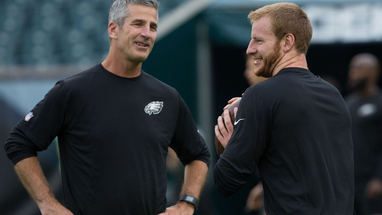 """""""I don't think the drafting of another player sent Carson in a tailspin."""": Colts HC Frank Reich comments on his new QB Carson Wentz"""