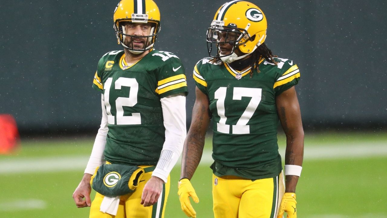 "Davante Adams had telling comments about his future amidst Aaron Rodgers-Packers drama, ""I'd definitely have to do some extra thinking if my guy wasn't here"""