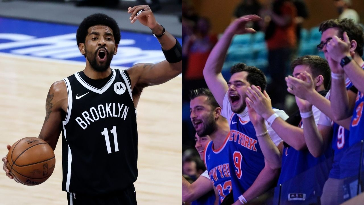 """""""We want the Brooklyn Nets!"""": Knicks fans send warning to Kyrie Irving and Kevin Durant following Game 2 victory over Trae Young and the Hawks"""
