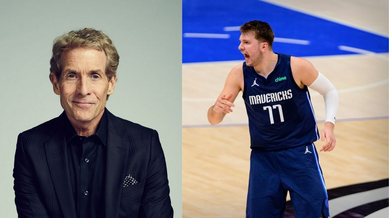 """""""Guess Luka Doncic has some of LeBron James in him"""": Skip Bayless mocks Mavericks and Lakers stars after Luka apparently hurt his shoulder during Clippers' Game 3 win"""
