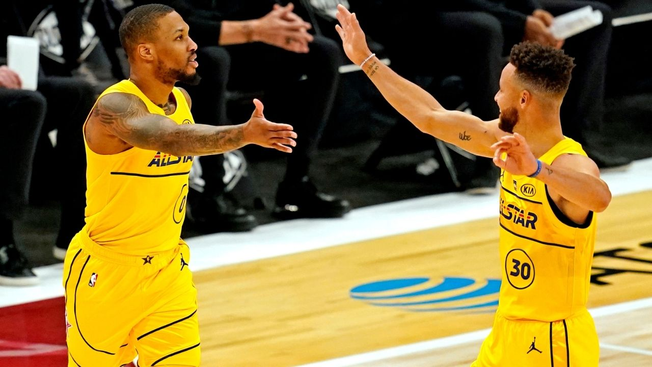 """""""Steph Curry and Klay Thompson could pass Kobe Bryant's 81"""": Damian Lillard reveals 5 players who could pass the Lakers legend's career high"""