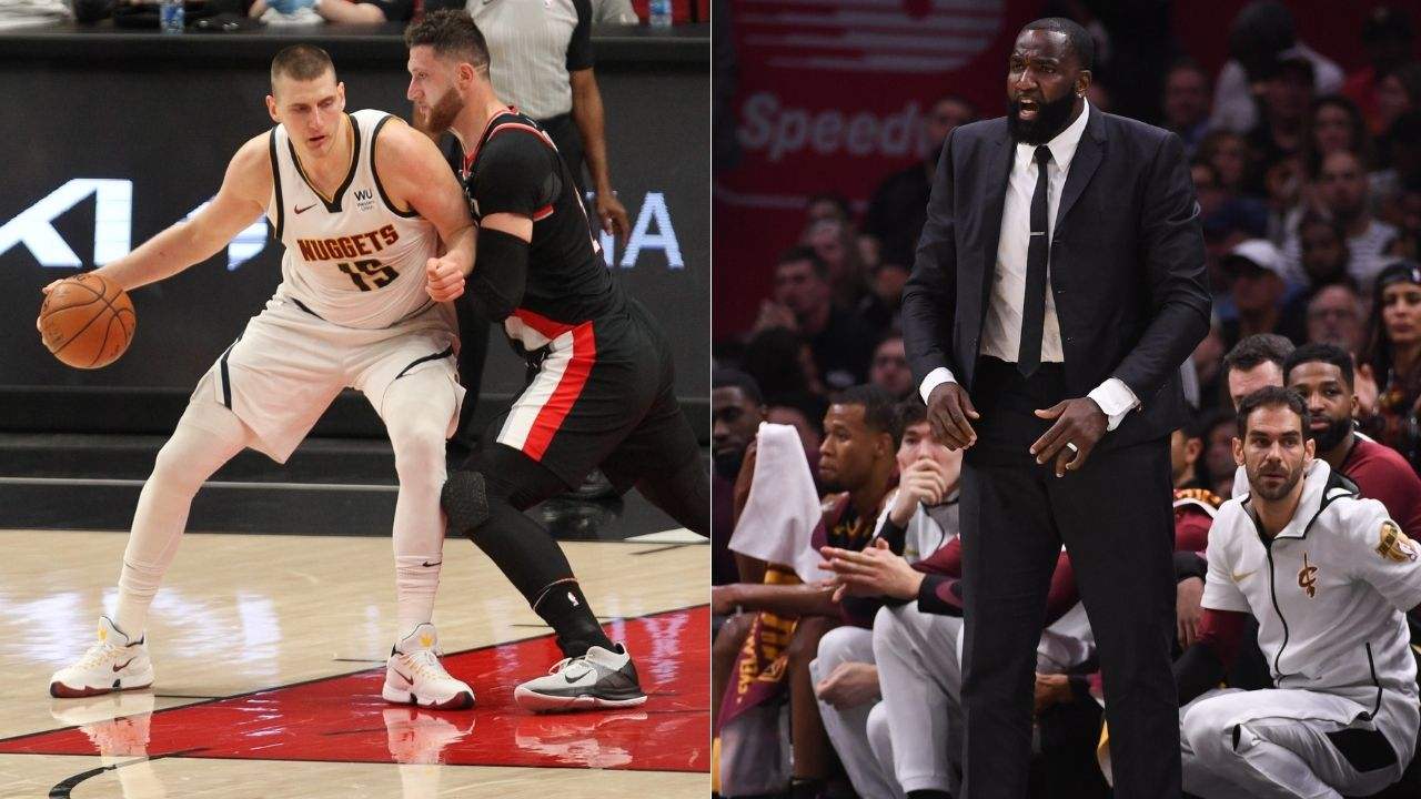 """""""If Kendrick Perkins was in the NBA today, he'd be a mascot"""": Jusuf Nurkic trolls former LeBron James teammate after epic defensive performance vs Nikola Jokic in Game 4"""