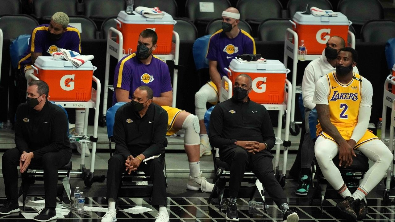 """""""The other Laker boys aren't as good as LeBron James and Anthony Davis"""": Kendrick Perkins slams the Lakers players for not playing up to standards this season"""